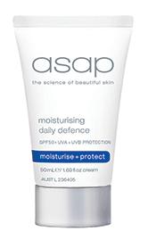 moisturising daily defence SPF50+ 50ml